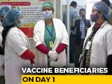 Video : 1.91 Lakh Frontline Workers Inoculated On Day 1 Of Vaccination Drive