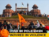 Video : 86 Cops Injured, 12 Cases Filed Over Tractor Rally Violence, Say Police