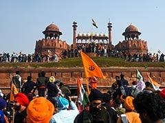 Delhi Police File Sedition Case Over Republic Day Agitation At Red Fort: Report