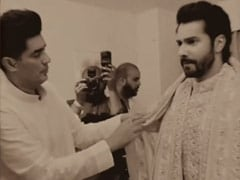 Here's What Went Into Making Varun's Wedding Outfit Perfect
