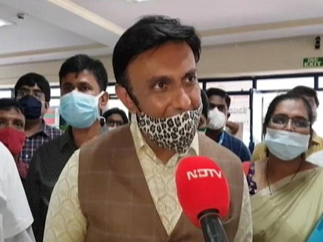 """Video : """"New India"""": Karnataka Minister On PM's Vaccination Message To Politicians"""