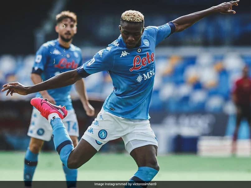 Napoli Striker Victor Osimhen Tests Positive For Coronavirus