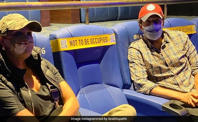 'Back Where We Belong': Lara Dutta And Mahesh Bhupathi Went To The Movies