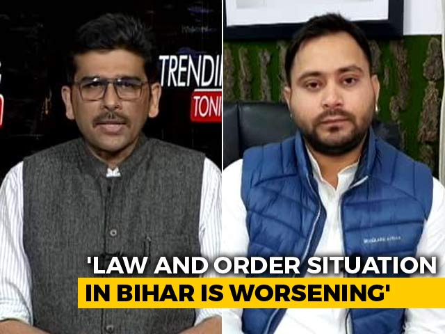 "Video : ""Can Imagine The Way They Talk To Normal People"": Tejashwi Yadav After Phone Call In Bihar Goes Viral"