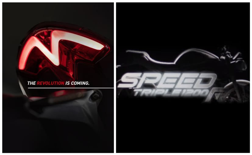 The new-generation Triumph Speed Triple 1200 RS will be launched in India on January 28, 2021