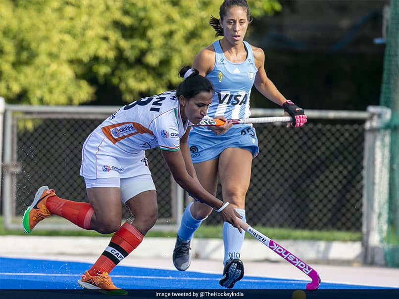 Indian Womens Hockey Team Suffers 2-0 Loss Against Argentina