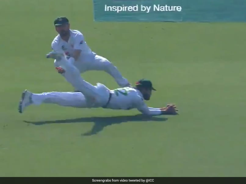 Pakistan Debutant Takes Stunning Catch To Dismiss Aiden Markram. Watch thumbnail