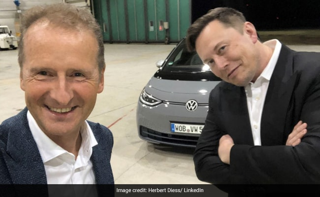 Volkswagen CEO Herbert Diess Makes Twitter Debut With A Jibe At Elon Musk