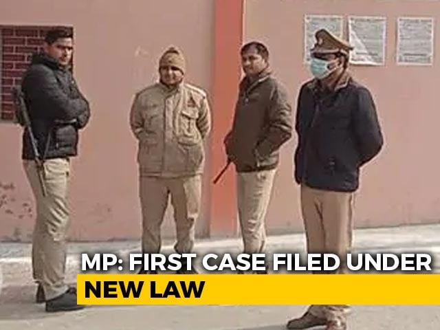 """Video : First Case Under New Law Against """"Love Jihad"""" Filed In Madhya Pradesh"""