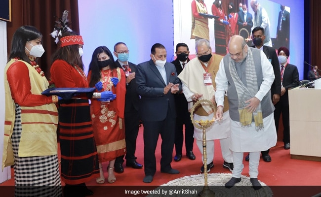 Amit Shah Chairs North Eastern Council Plenary Meeting In Shillong