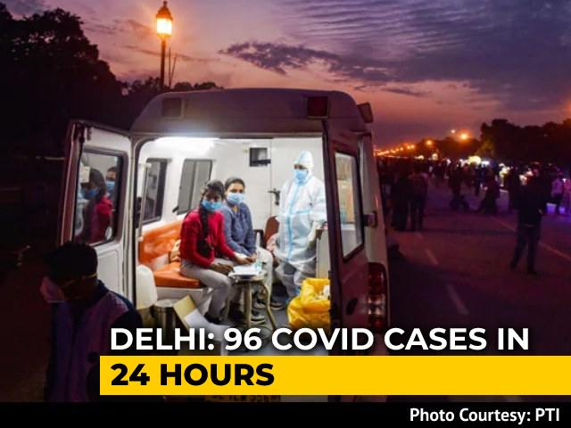 Video : Delhi's Daily Covid Cases Less Than 100 For First Time In Almost 9 Months