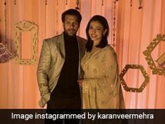 पवित्र रिश्ता एक्टर करणवीर मेहरा ने अपनी गर्लफ्रेंड निधि सेठ से रचाई शादी, देखें खूबसूरत Photos