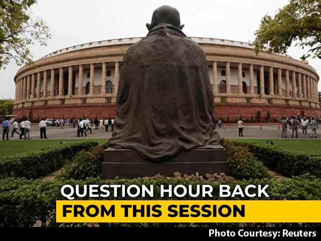 Video : Question Hour To Make A Return In Budget Session Of Parliament