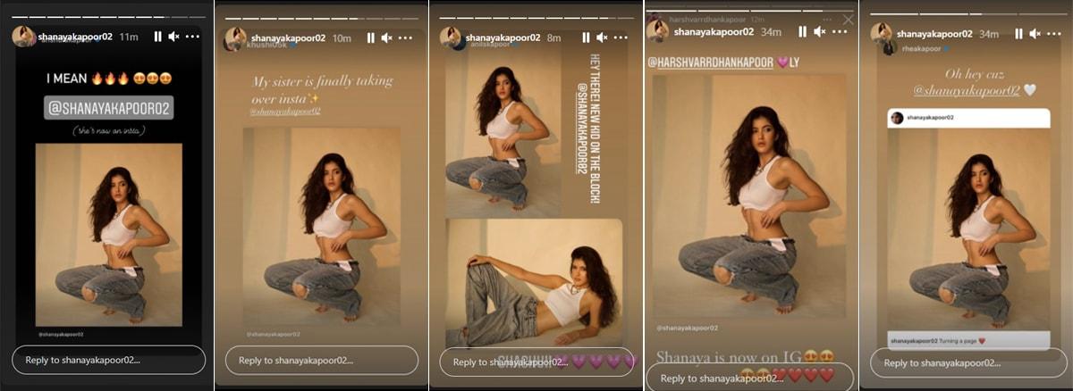 , Just Shanaya Kapoor Being Fabulous. Navya Naveli, Khushi Kapoor Can't Keep Calm,