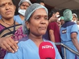 Video : Frontline Workers In Hyderabad Keen To Get Covid Shots