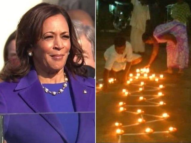 Video : Tamil Nadu Village Celebrates As Kamala Harris Becomes US Vice President