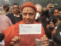 President Donates Rs 5 Lakh For Ram Temple As Drive For Funds Begins