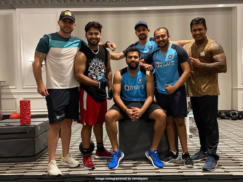 "Australia vs India: ""Its About Brotherhood,"" Says Rishabh Pant As He Sweats Out In Gym With Rohit Sharma, Others"