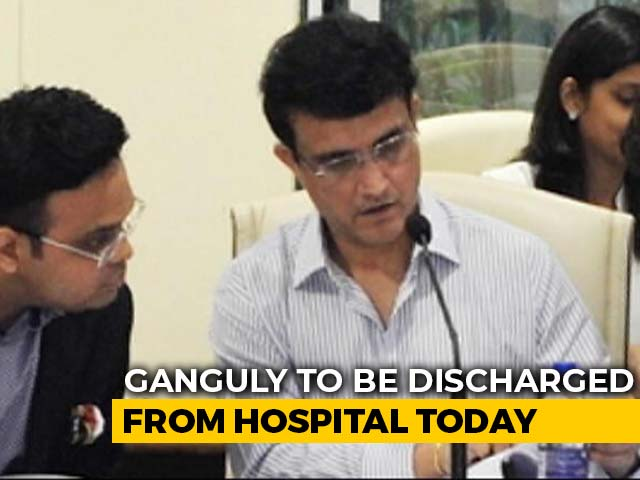 Video : Sourav Ganguly To Be Discharged From Hospital Today
