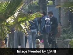 Team Of Delhi Police's Special Cell Visits Blast Site Near Israel Embassy