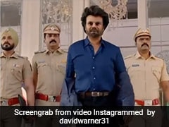 David Warner Greets Fans On New Year With Funny Rajinikanth Video