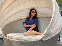 "A Pic Of Madhuri Dixit ""Growing Strong"" In Her Cocoon"