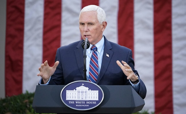Ex-US Vice President Mike Pence To Pen Memoir Ahead Of 2024 Race: Publisher