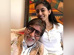 "Navya Naveli's Thoughts On Granddad Amitabh Bachchan's ""New Acquisition"" - A Face Mask"