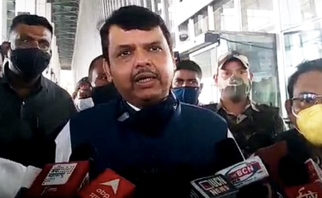 'Unfortunate': Devendra Fadnavis After Maharashtra Governor Refused State Plane
