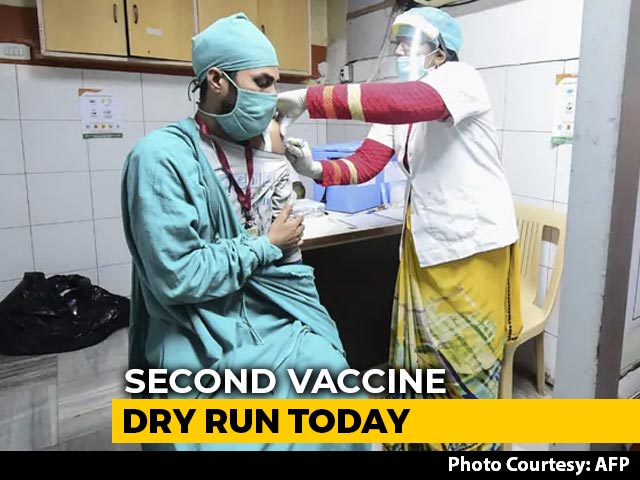 Video : India's Second Vaccine Dry Run Today Ahead Of Roll-Out