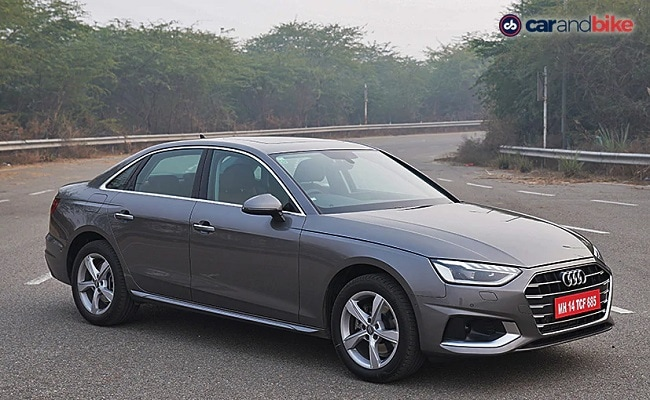 The new Audi A4 facelift gets a 2.0-litre turbocharged petrol TFSI engine