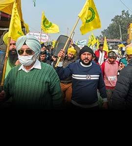 किसानों की रैली बाधित करने के लिए पाक से 300 Twitter अकाउंट बनाए गए, पुलिस का दावा