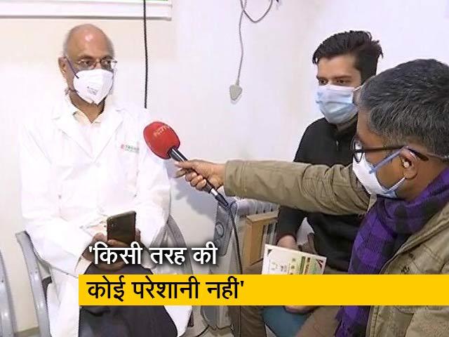 Video : वैक्सीन लगवाने के बाद स्वास्थ्य कर्मियों ने NDTV से की बातचीत
