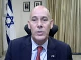 "Video : ""Terror Attack"" Directed At Israeli Embassy, Says Envoy"