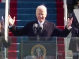 "Video : Joe Biden Takes Oath As 46th US President, Calls For ""Unity"""