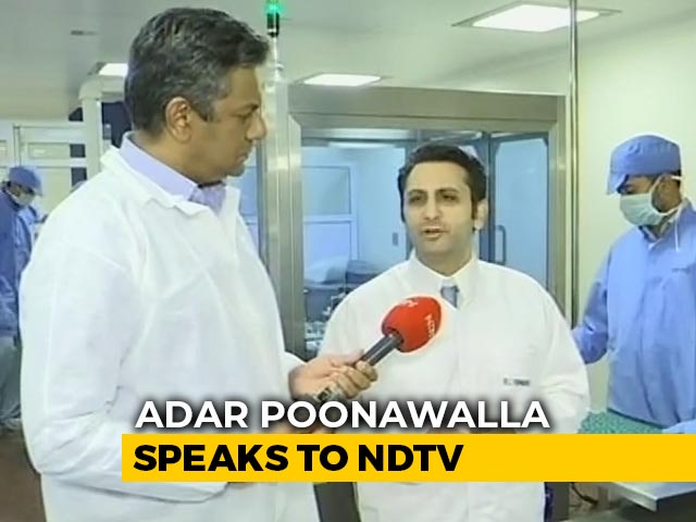 Video : Will Supply Vaccine To 30 Countries, Have Ensured India Gets Priority: Adar Poonawalla To NDTV