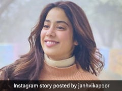 Janhvi Kapoor Layers Up Fabulously In A Warm Winter Tone Sweater