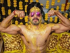 "Trending: Varun Dhawan Shares Pics From ""Haldi Done Right"""