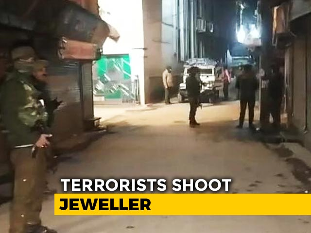 Video : Jeweller Shot Dead By Terrorists In Jammu And Kashmir