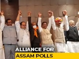 "Video : ""People Want This"": Congress, Badruddin Ajmal's AIUDF Ally For Assam Polls"