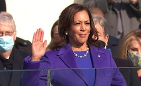 Kamala Harris Becomes First Woman Vice President Of US