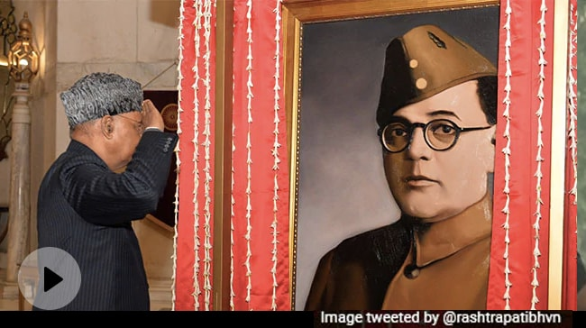 Video | Netaji Or Actor Who Played Him? President's House Portrait Stirs New Row