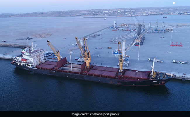 India Supplied Two Mobile Harbour Cranes To Iran's Chabahar Port