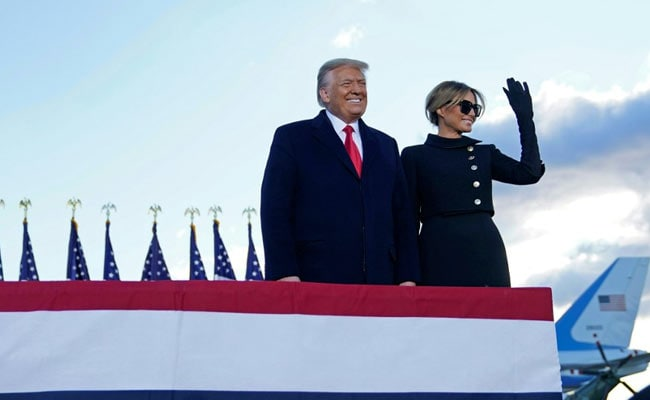 'We Will Be Back In Some Form': Trump Leaves White House For Florida