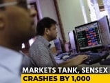 Video : Sensex Tumbles Over 900 Points, Nifty Breaks 14,000; Financials, Metals Drag