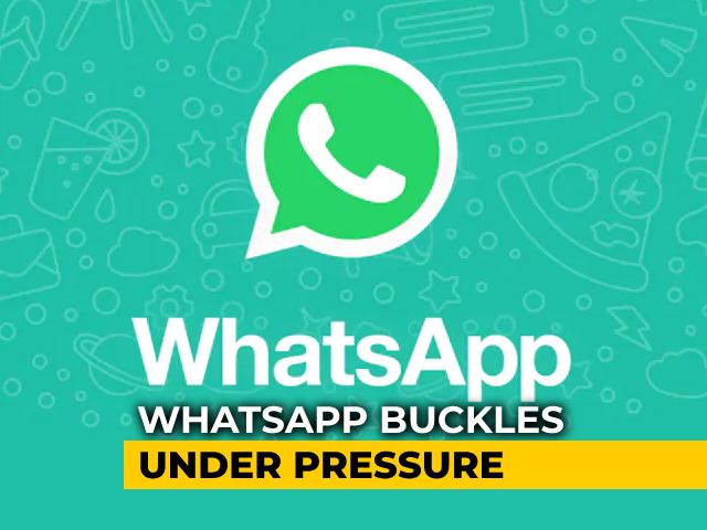 Video : WhatsApp Delays New Privacy Policy Till May 15 Amid Severe Criticism