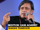 Video : Shashi Tharoor, 6 Journalists Face Sedition For Farmers' Protest Posts