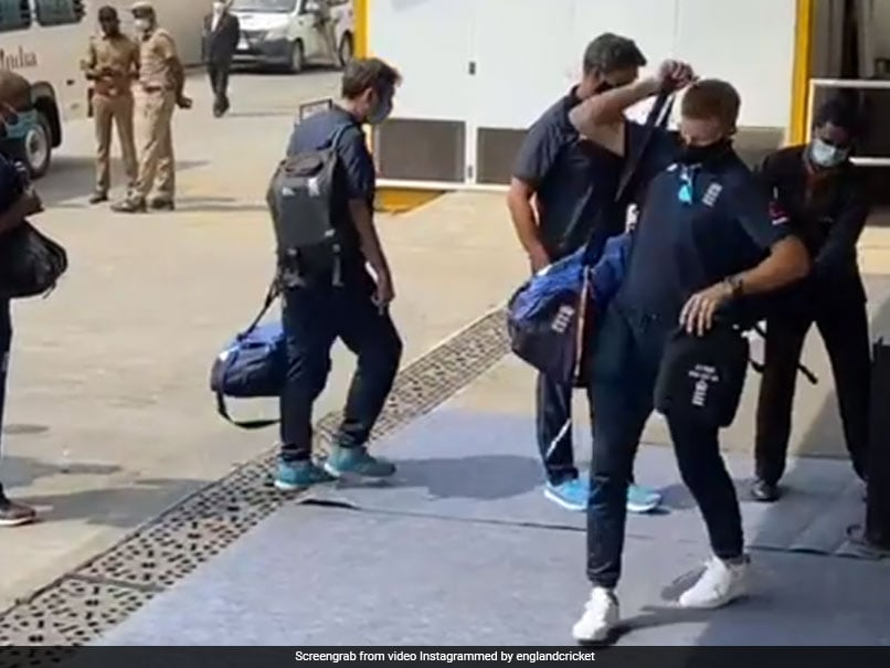 IND vs ENG: England Cricket Team, Support Staff Arrive In Chennai Ahead Of Test Series. See Pics - NDTV Sports