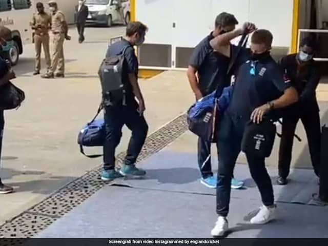 England Players, Staff Arrive In Chennai Ahead Of India Tests. See Pics