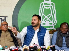"""Bhishma Pitamaha Of Corruption"": Tejashwi Yadav Slams Nitish Kumar"